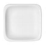 Teller flach quadratisch 1152/12 cm weiß, B1100 / 6200,Modulus