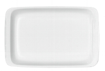 Platte rechteckig 1162/18 cm weiß, B1100 / 6200,Krankenhaus