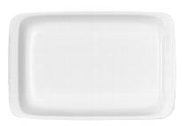 Platte rechteckig 30 cm weiß, B1100 / 6200,Modulus