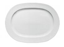 Platte oval Fahne 2561/35 cm weiß, Carat