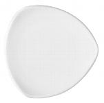 Teller flach coup dreieckig 7153/25 cm weiß, Options