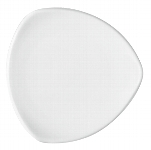Teller flach coup dreieckig 7153/32 cm weiß, Options