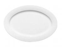 Platte oval Fahne 8061/35 cm weiß, Dialog