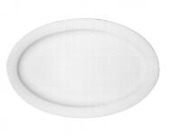 Platte oval Fahne 9061/29 cm weiß, Dimension