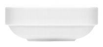 Salatiere quadratisch 2181/15 cm weiß, Krankenhaus,Carat relief