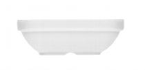Salatiere eckig 1181/14.5 cm weiß, Krankenhaus,Dialog relief
