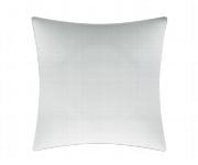 Teller flach Fahne quadratisch 30 cm weiß, Pleasure