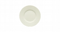 Teller flach Fahne 17 cm Noble China, Purity