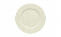 Teller flach Fahne 24 cm Noble China, Purity
