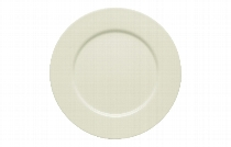 Teller flach Fahne 26 cm Noble China, Purity