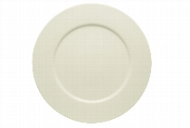 Teller flach Fahne 32 cm Noble China, Purity