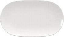 Platte oval coup 23 cm weiß, Scope