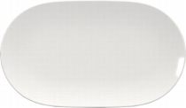 Platte oval coup 37 cm weiß, Scope