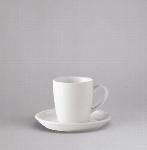 Espresso Obere hoch 0,09 l weiß, Form 98