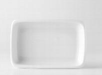 Schale eck. gross 18x12cm 1571 weiß, Form 2011 (298)
