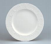 Teller flach Fahne 28 cm weiß, Marquis 700
