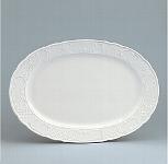 Platte Fahne 33 cm weiß, Marquis 700