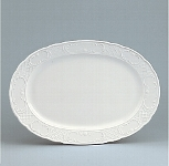 Platte Fahne 38 cm weiß, Marquis 700