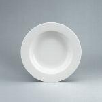 Teller tief Fahne 23 cm weiß, Fine Dining 900