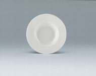 Teller tief Fahne 28 cm weiß, Fine Dining 900