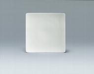 Teller flach coup eckig 24 cm weiß, Fine Dining 900