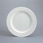 Teller flach Fahne 25 cm weiß, Donna 1298,Donna senior
