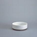 Salat rund 12 cm weiß, Donna 1298