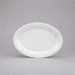 Platte oval 32 cm weiß, Avanti 1398