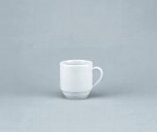 Kaffeebecher 0,28 l weiß, Joker 1498,Form 898, Form 2011