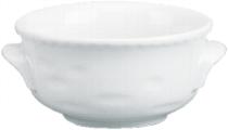 Suppenobere 0,45 l weiß, feuerfest