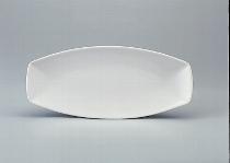 Platte oval 40 cm weiß, Event