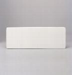 Sushiplatte 11 x 30 cm weiß, Unlimited