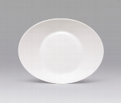 Teller tief oval 18 cm weiß, Signature,Kinder