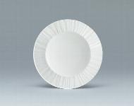 Plateau-Teller oval 32 cm weiß, Signature