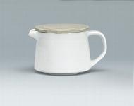 Portionskanne Utl. 0,30 l weiß, Form 2013