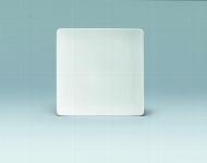 Teller flach coup eckig 20 cm weiß, Fine Dining 900