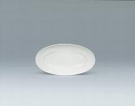 Platte oval 38 cm weiß, Grace 939