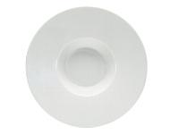 Gourmetteller tief Fahne 16 cm weiß, Connect