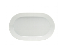 Platte coup oval 25 cm weiß, Connect