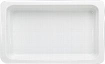 Porzellan GN-Schale  GN 1/1 20 mm weiß