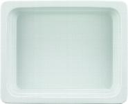 Porzellan GN-Schale  GN 1/2 20 mm weiß