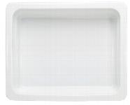 Porzellan GN-Schale GN 1/2 100 mm weiß