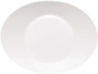Teller tief oval 22,5 cm Signature weiß
