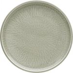 Teller flach coup Struktur 21 cm STEAM, Shiro Glaze