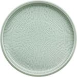 Teller flach coup Struktur 21 cm FROST, Shiro Glaze