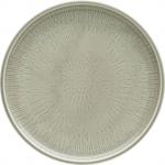 Teller flach coup Struktur 24 cm STEAM, Shiro Glaze