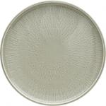 Teller flach coup Struktur 26 cm STEAM, Shiro Glaze