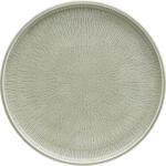 Teller flach coup Struktur 28 cm STEAM, Shiro Glaze