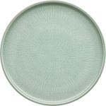 Teller flach coup Struktur 28 cm FROST, Shiro Glaze