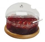 Buffet-Kühlschale TOPFRESCH Maxi Holz 2,5 l